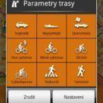 Možnosti plánování tras