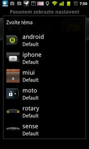 Odemykat telefon můžete třeba ve stylu Motorola, HTC Sense, MIUI, či iPhone