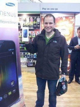 Galaxy Nexus zákazník
