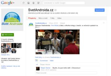 Google + Page