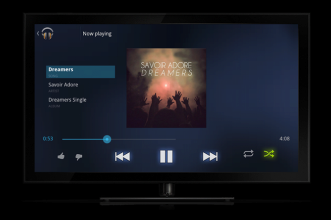 Google TV Google Music