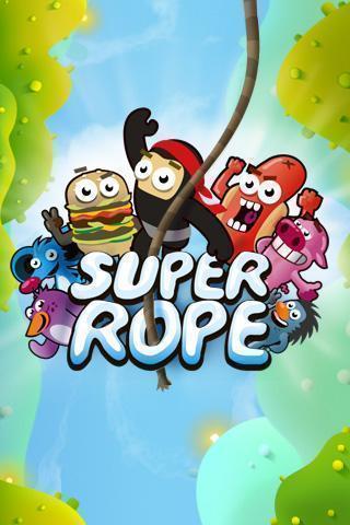 SuperRope – úvodní obrazovka