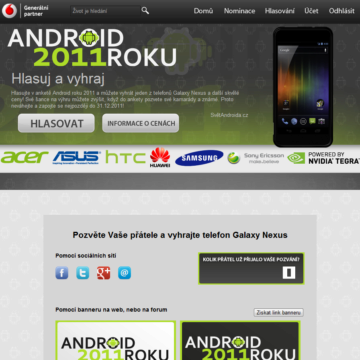 ANdroid roku 2011 ucet