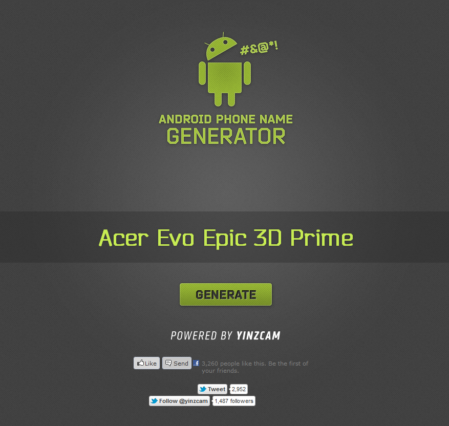 AndroidNameGenerator