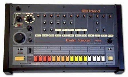Roland TR-808 drum machine (originál)