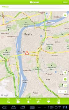 Aktuální nehoda v Praze