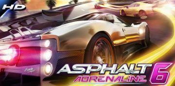 Asphal 6 Adrenaline HD