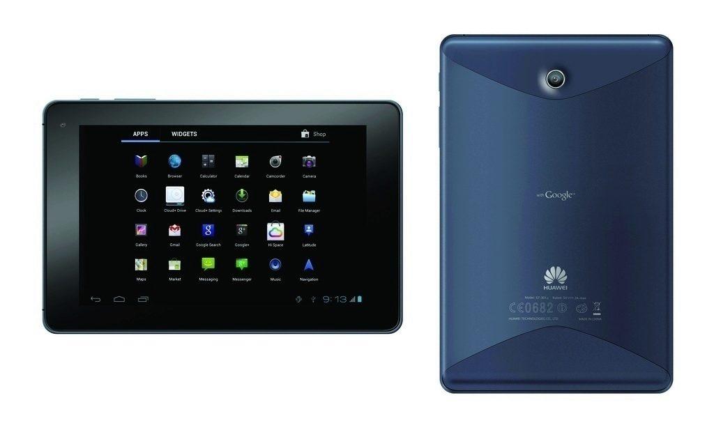 Huawei MediaPad ICS modry