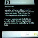 7. Tvorba Google účtu