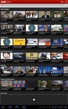 BBC News (mezinárodní mobilní verze)