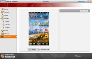 Pořízení snímku obrazovky je s Hi Suite hračkou