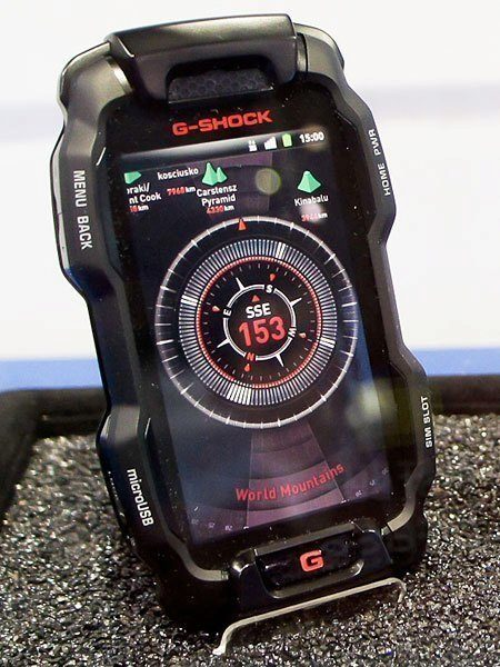 Koncept Casio G-Shock