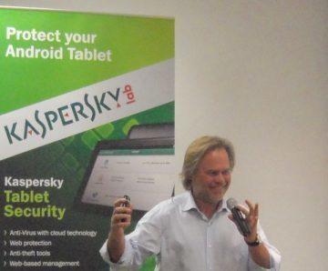 Jevgenij Kaspersky na Mobile World Congressu