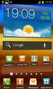 Android 4.0.3 na Samsungu Galaxy S II