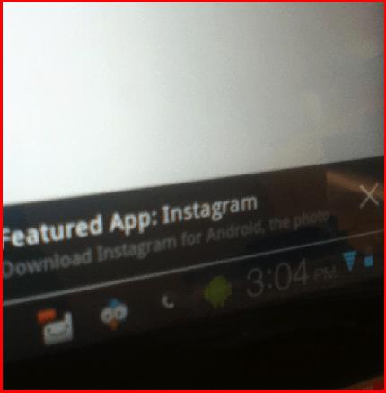 Instalace Instagramu