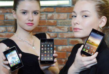 LG Optimusy L3, L5 a L7