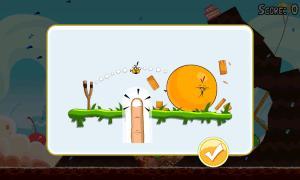 Ve hře se dále objevuje nový oranžový pták...