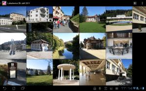 Galerie doznala proti Androidu 2.x viditelných změn
