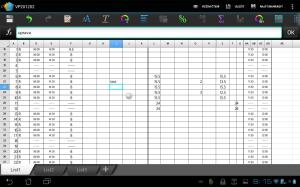 Polaris Office si taktéž poradí s tabulkami v Excelu
