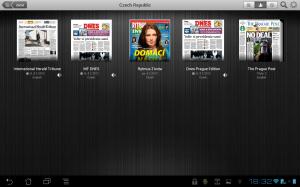 Press Reader nabízí přes 1700 národních a mezinárodních novinových titulů