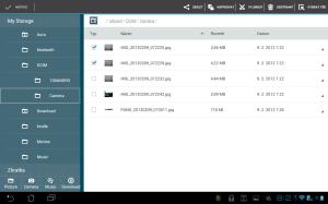 Správce souborů poskytuje přístup k souborům v paměťových úložištích