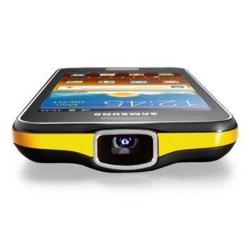 Samsung Galaxy Beam s HD projektorem