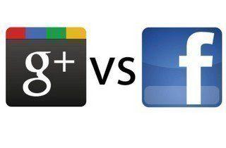 google-plus-vs-facebook_logo
