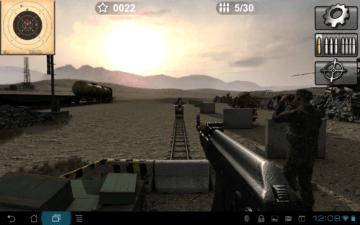 Grafika ve hře Arma II: Firing Range THD
