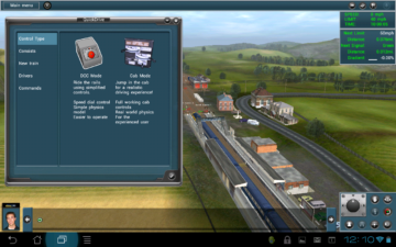 Grafika ve hře Trainz Simulator