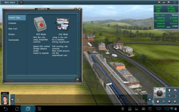 Grafika ve hře Trainz Simulator