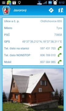 Informace o stanici Horské služby
