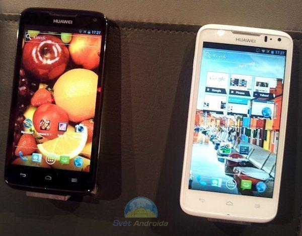 Huawei Ascend D můžete mít ve 2 barevných provedeních