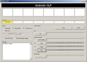 Správné nastavení ODIN pro flash firmware