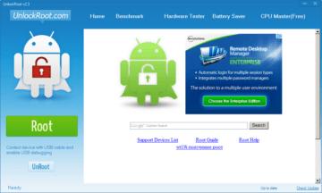 Aplikace Unlock Root