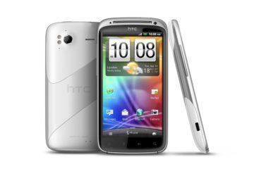Bílý HTC Sensation