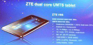 Prezentace tabletu ZTE V9S
