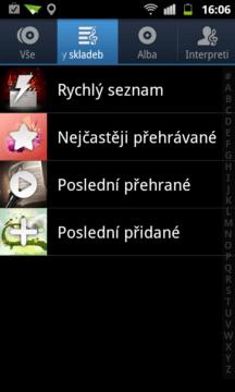 Seznamy skladeb
