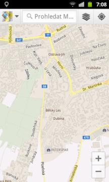 Mapy Google jsou na Androidu klasikou