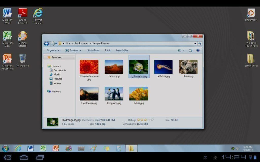 OnLive Desktop – Windows 7 a Office 2010 ve vašem Androidu