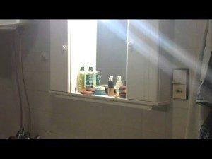 Snímek z videa pořízeného původní aplikací z HTC Sensation