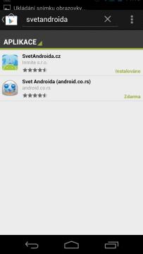 SA Google Play hledat