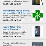 SA aplikace clanky