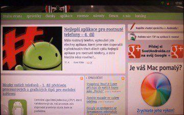 Alternativní webový prohlížeč Dolphin Browser HD