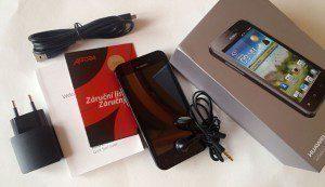 Kompletní příslušenství telefonu Huawei Honor