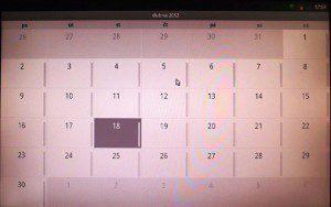 Kalendář můžete prohlížet v denním, týdenním nebo měsíčním pohledu, případně též v režimu agendy