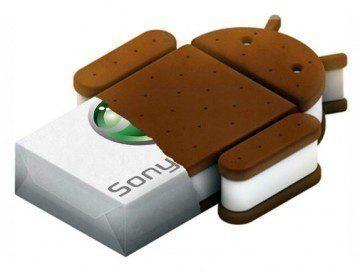 techsbook com ice cream sandwich sony xperia