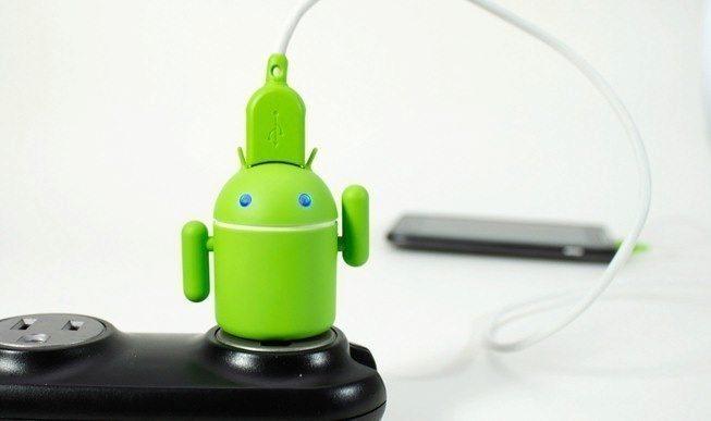 Android nabijecka