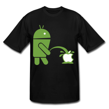 Tshirt-Android-VS-Apple