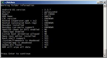 A tady ji máme - informace o použité ROM