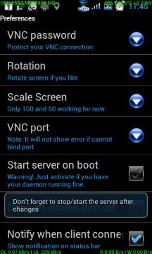 droid VNC server BETA